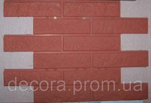 Формы для производства фасадной плитки «Кирпич рваный» глянцевые пластиковые