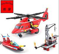 Конструктор аналог LEGO Пожарные спасатели 404 детали
