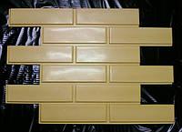 Формы для производства фасадной плитки «Кирпич гладкий» глянцевые пластиковые, фото 1