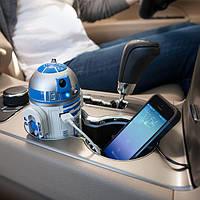 Автомобильное зарядное устройство USB в виде робота R2-D2 Звездные Войны, фото 1