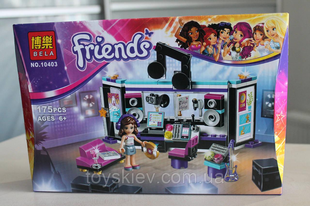 Конструктор Friends 10403 Студия звукозаписи