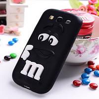 Чехол M&M's для Samsung Galaxy S3 I9300 черный, фото 1
