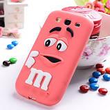 Чехол M&M's для Samsung Galaxy S3 I9300 малиновый, фото 2