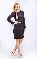 Отличное женское платье из трикотаж замша Милана