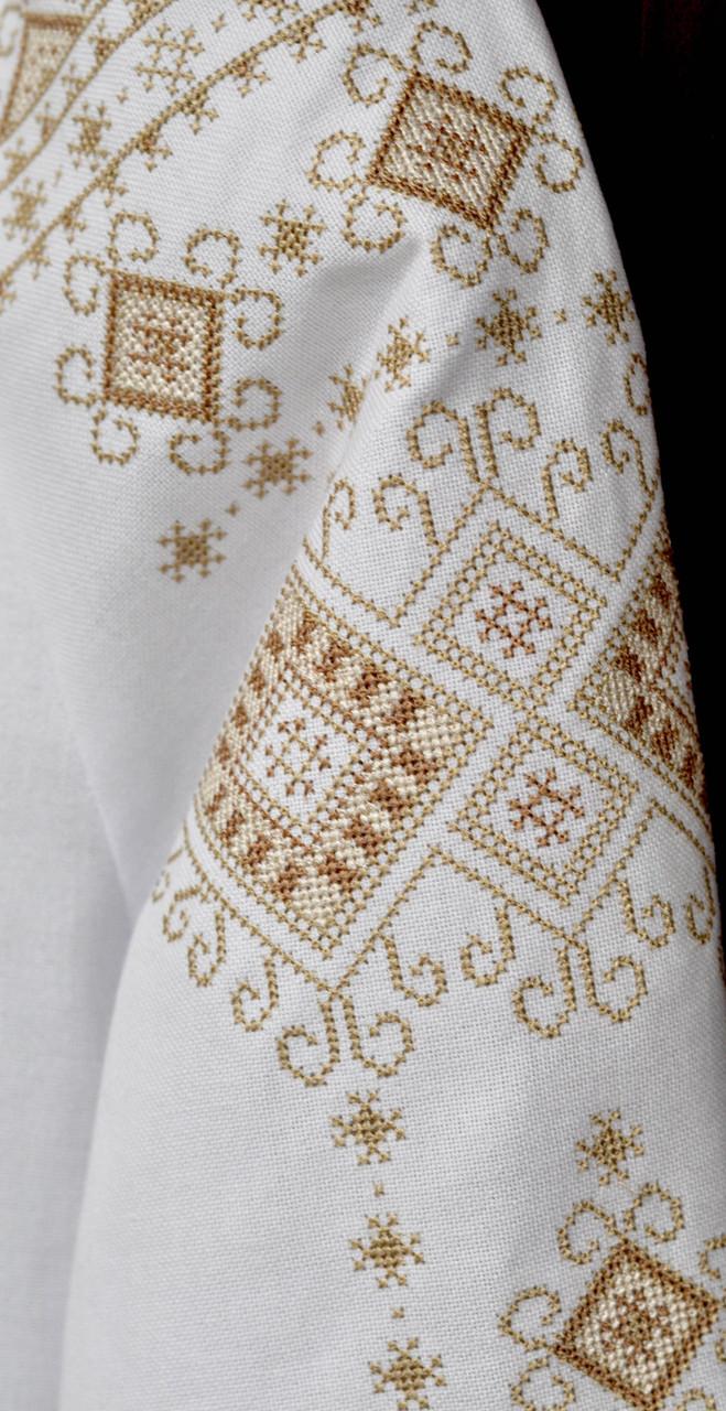 ... фото 3 Вишиванка жіноча Дарія (коричнева) dc651528f82e6