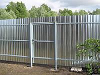 Забор из профнастила (эконом)