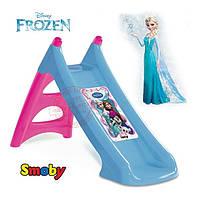 Детская горка с водным эффектом Smoby XS Frozen 310073