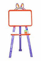 Мольберт для рисования магнитный (для мела и маркера), оранжевый, 013777/5