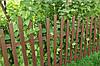 Штакетный забор  из ПВХ