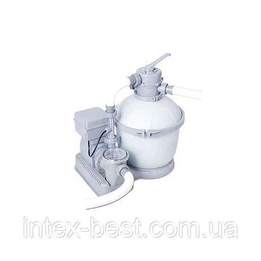 Песчаный фильтр насос с озонатором BestWay 58286 ASS 14