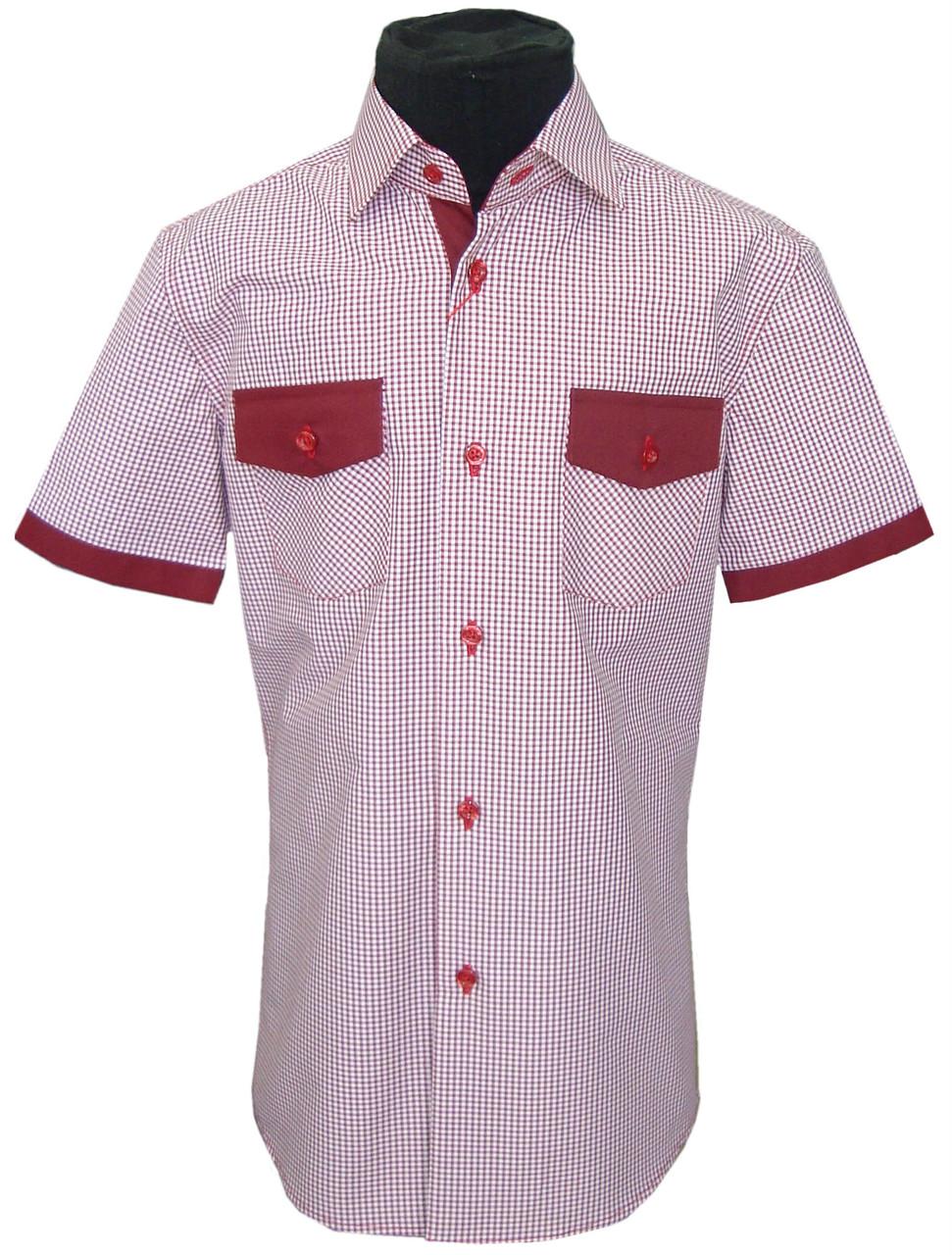 Рубашка детская c коротким рукавом №12/4 7486 V04