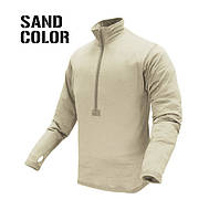 Condor Base II Zip Pullover Sand все разм.