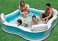 Детский надувной бассейн Intex 56475 (229*229*56 см), фото 2