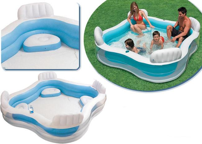 Детский надувной бассейн Intex 56475 (229*229*56 см)