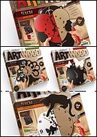 """Набор креативного творчества """"ARTWOOD"""" настенные часы"""" для выпиливания, 11687"""