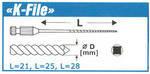 Напильник корневой Тип К (6шт) №15