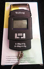 Кантер электронный WeiHeng 50 кг (металл)