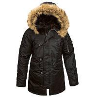 Жіноча зимова куртка аляска Alpha Industries N-3B W Parka WJN44502C1 (Black)