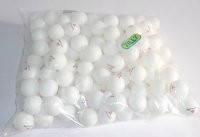 Теннисный мячик  белый 40мм, BT-PPS-0033Б