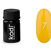 Гель краска Kodi Professional №07