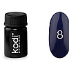 Гель краска Kodi Professional №08