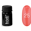 Гель краска Kodi Professional №25
