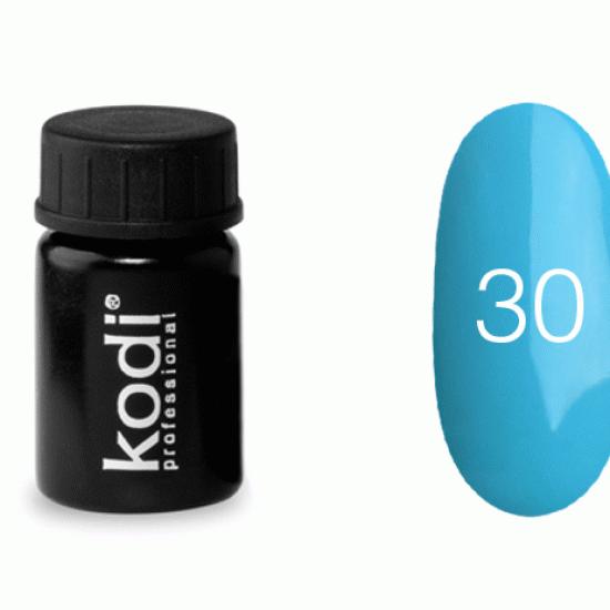 Гель краска Kodi Professional №30