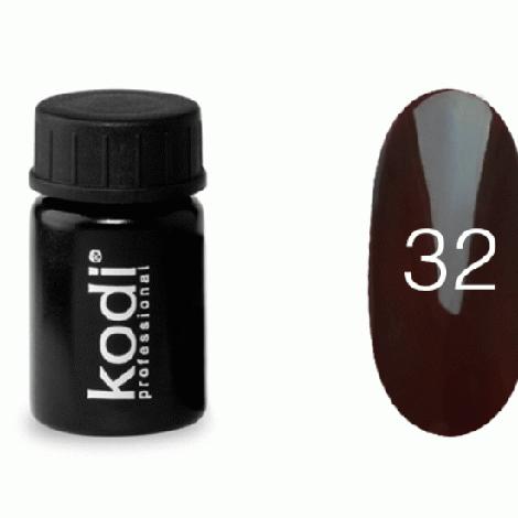 Гель краска Kodi Professional №32