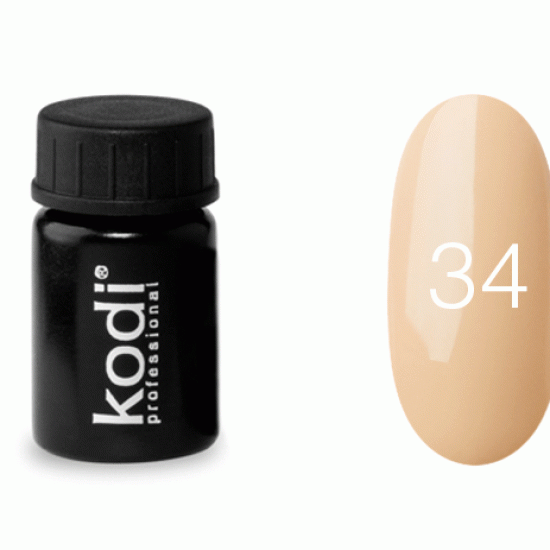 Гель краска Kodi Professional №34