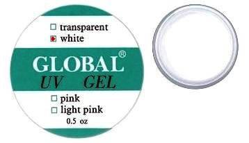 Гель Global 15 г Белый