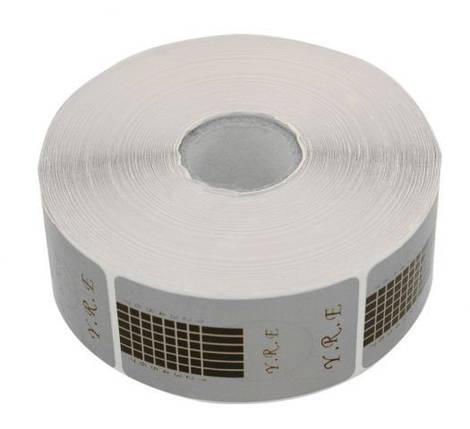 Форма для наращивания YRE узкая (серебро) 500шт