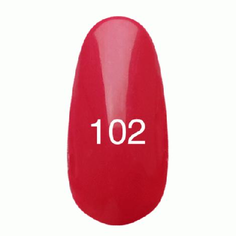 Kodi Professional Гель лак №102 Светло малиновый 8мл