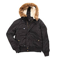 Оригинальная женская куртка Sarah Alpha Industries (черная), фото 1