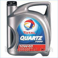Масло моторное 10W40 (5 л) MB 229.1, VW 501.01/505.00 — Total (Франция) — QUARTZ 7000 5L