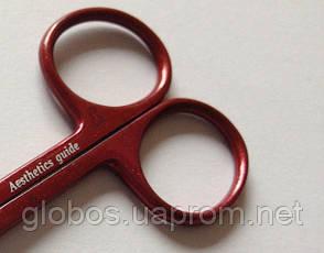 Ножницы для удаления кутикулы ручной заточки GLOBOS 9с212, фото 2