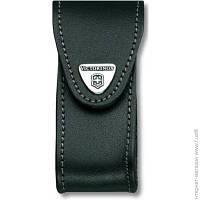 Аксессуары К Швейцарским Ножам И Мультитулам Victorinox Чехол поясной черный кожаный (4.0520.3)