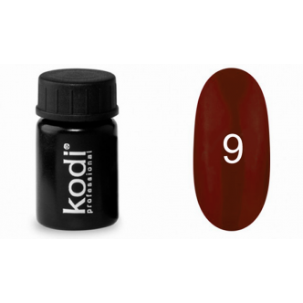 Гель краска Kodi Professional №09