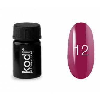 Гель краска Kodi Professional № 12