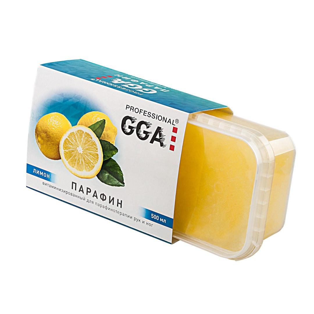 "GGA Professional ""Парафин витаминизированный"" Лимон, 500 мл."