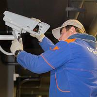 Установка видеонаблюдения «под ключ»