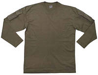 MFH США футболка длин. рукав с карманами олива все разм.