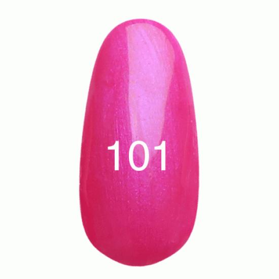 Kodi Professional Гель лак №101 Ярко розовый с перламутром 8 мл.