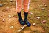 Носки HUF plantlife, фиолетовые с зелёным листом конопли Д28