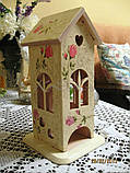 Чайный домик №1 заготовка для декупажа, фото 3