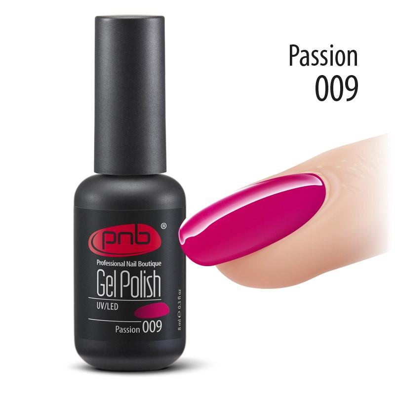 Гель лак PNB 009 Passion 8 мл