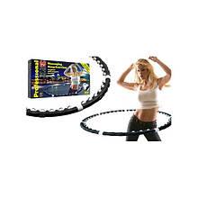 Массажный обруч Massaging Hoop Exerciser с магнитами домашний обруч