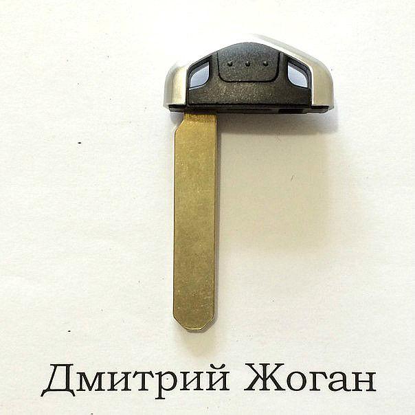 Лезвие для смарт ключа Honda (Хонда), HON66