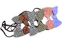 Повязка на голову для греческой прически с косичкой с бантиком, фото 1