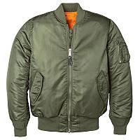 Женская куртка бомбер MA-1 W Flight Jacket (оливковый)