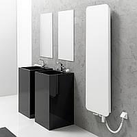 Панельный радиатор INDIVI NEW (белое стекло)
